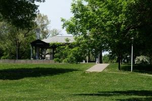 Une végétation exceptionnelle entoure le parc Morgan
