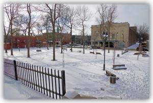 Le parc aurait pu être un lieu de promenade et de fréquentation exceptionnel cet hiver